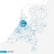 Herkomst bezoekers Nederland per plaats