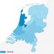 Herkomst bezoekers Nederland per provincie
