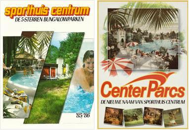 1986 - Center Parcs is de nieuwe naam van Sporthuis Centrum