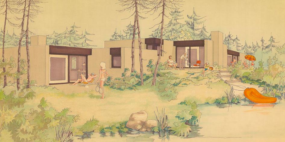 1975 Impressie van De Berkenhorst