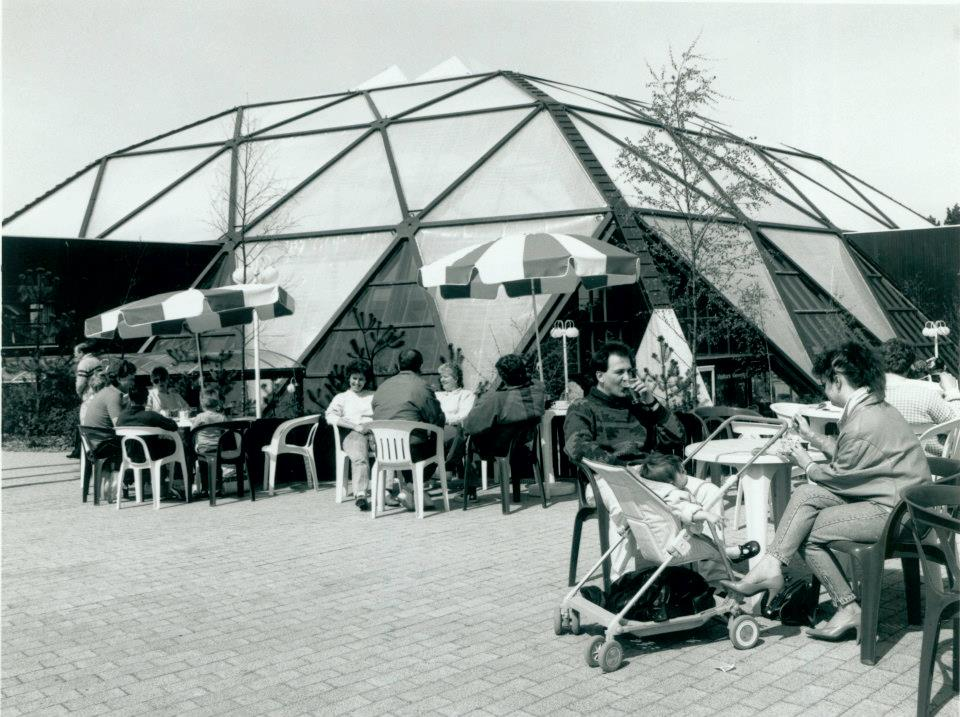 1986 - Het parkcentrum op Het Heijderbos