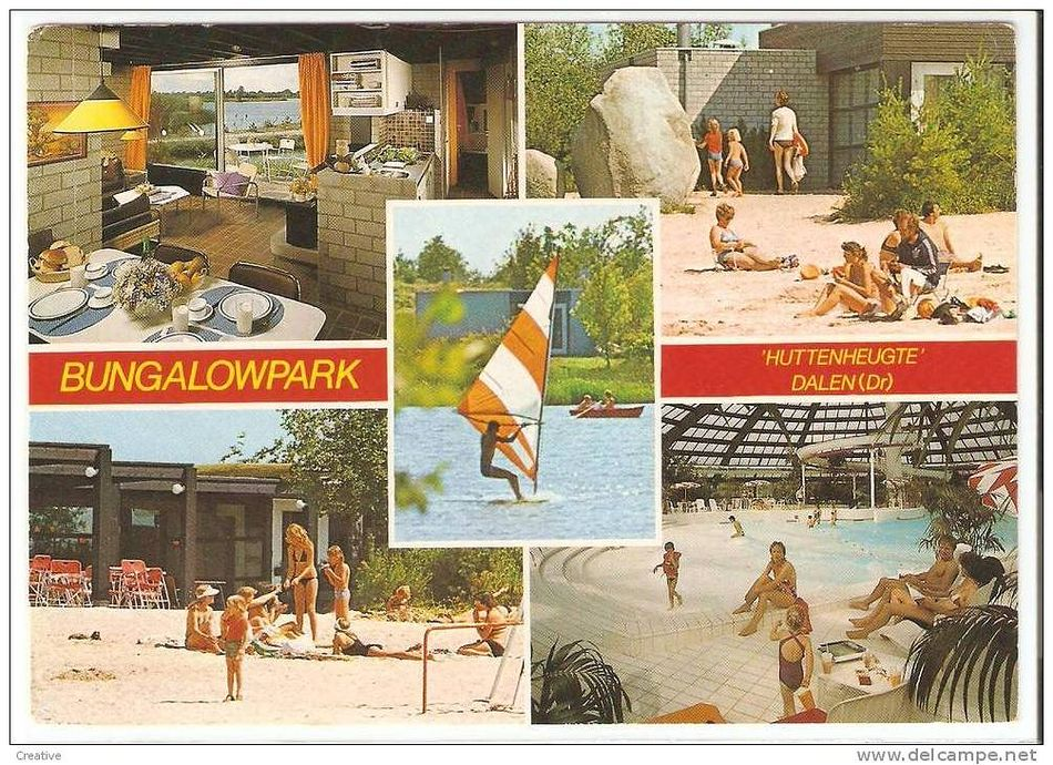 1976 - Ansichtkaart De Huttenheugte